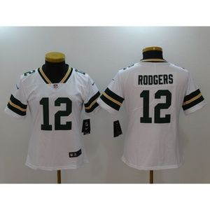 Women Green Bay Packers Aaron Rodgers Jersey (4)